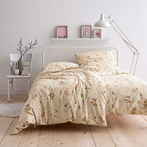 EStella Abetone Bed Linen Cream, Cotton, cream, 155x220 + 80x80