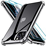 Joyguard iPhone 11 Pro Case with [2*Tempered Glass Screen