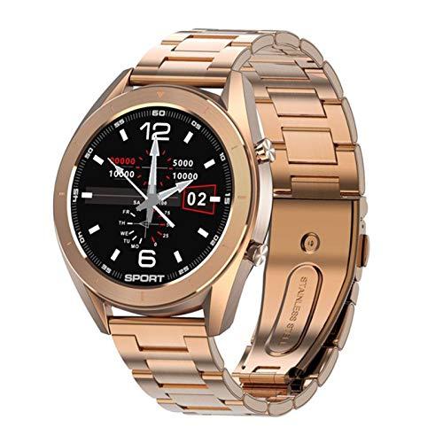 YYZ DT99 Smart Watch Fashion Damas Men's IP68 Reloj De Deportes A Prueba De Agua Ratón Cardíaco Presión Arterial Seguimiento del Sueño,F