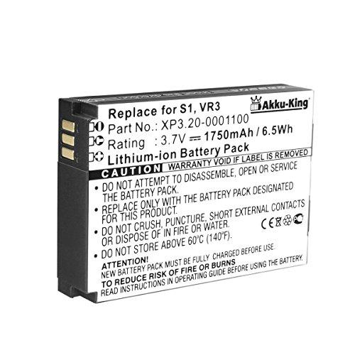 Akku-King Akku kompatibel mit Sonim XP-0001100 - Li-Ion 1750mAh - für XP1300, XP1301, XP3300, XP3340, XP3400, XP5300