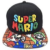 マリオ野球帽子 野球帽鳥打ち帽 MARIO紫外線対策ハット 日よけ刺繍キャップ 男女兼用 贈り物