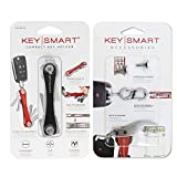 Requisiti per le dimensioni chiave: KeySmart può ospitare fino a 8 chiavi piatte di dimensioni standard (max di 80 mm di lunghezza e 2 mm di spessore ciascuno) e può essere espansa per contenere fino a 14 chiavi utilizzando il kit di espansione inclu...