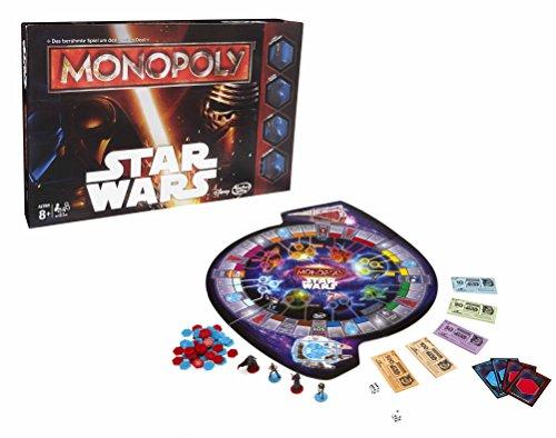 Hasbro Spiele B0324100 - Star Wars Monopoly, Familienspiel