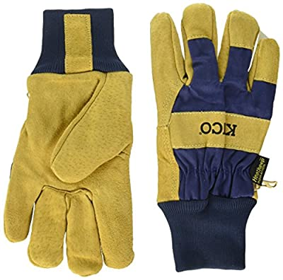 Kinco 0 Suede Pigskin with Knit Wrist Work Gloves