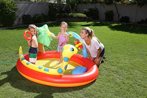 RTUHRJLXJ Summer Fashion Fold Swimming Pool, Game Center, The Children in The Yard Inflatable Pool Toys, Floats 192 150 88 cm Adult Baby Steps