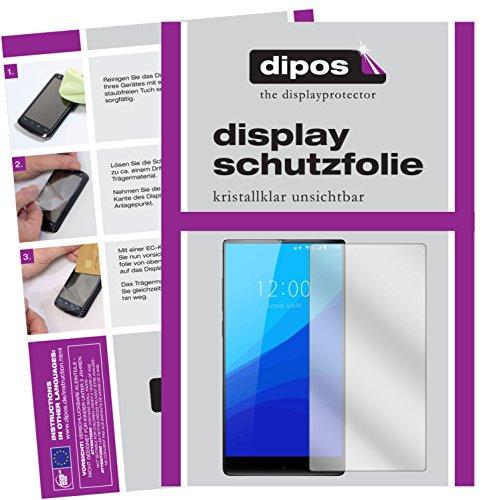 dipos I 6X Schutzfolie klar kompatibel mit Umidigi Crystal Folie Bildschirmschutzfolie