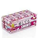 Smint Tin Cereza, Edición Limitada, Caramelo Comprimido sin Azúcar - 12 unidades de 35 gr. (Total 420 gr.) 420 g