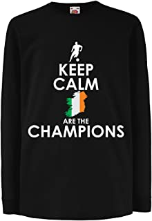 T-Shirt for Kids Keep Calm, Irish are The Champions