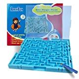 AMINFUN Magic Maze Puzzle Toy,Learning Games,Puzzle Brain Games,Kids Can Create Hundreds of Different Mazes,Gift for Preschooler 3.4.5 Years Old