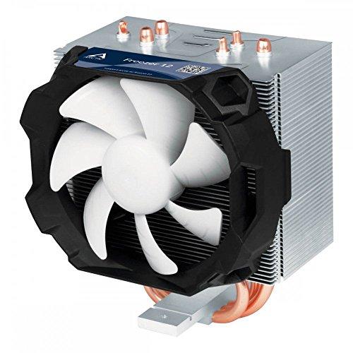ARCTIC Freezer 12 - Kompakter semi-passiver Tower CPU-Kühler, 92 mm PWM Fan, Kompatibel zu AMD und Intel Sockeln, Empfohlen bis zu 130 W TDP