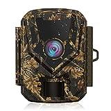 HOLLYWTOP Caméra de Chasse, 1080P 20MP Trail Caméra de Faune, Activée par Le...