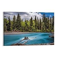 美しい自然風景キャンバスアートポスター装飾絵画壁アート絵プリントポスターリビングルーム壁画家の装飾絵画12×18インチ(30×45cm)