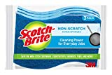 Scotch-Brite Non-Scratch Scrub Sponges, 6 Scrub Sponges, Lasts 50%...