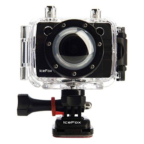 IceFox 40243 Actioncam 5S WiFi Outdoor Edition (Action-, Sport- und Helmkamera) - Dunkel schwarz