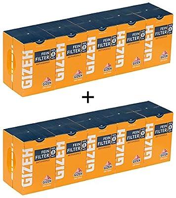Gizeh Kohlefilter 20 Schachteln im Karton