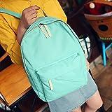 Generic luz verde: 2016venta caliente TTLIFE Mujer Moda Mochilas Lienzo Classic mochila para adolescentes Niñas Molas feminina deporte saco bolsa