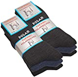 VCA 6 pares de calcetines polares, totalmente de rizo, gruesos y cálidos