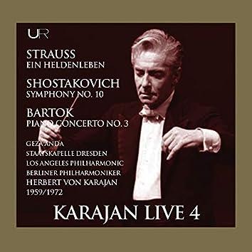 Karajan conducts Strauss, Bartok, Schostakovich