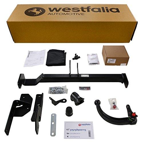 Westfalia abnehmbare Anhängerkupplung für 3008 (BJ ab 06/2009) im Set mit 13-poligem fahrzeugspezifischen Westfalia Elektrosatz