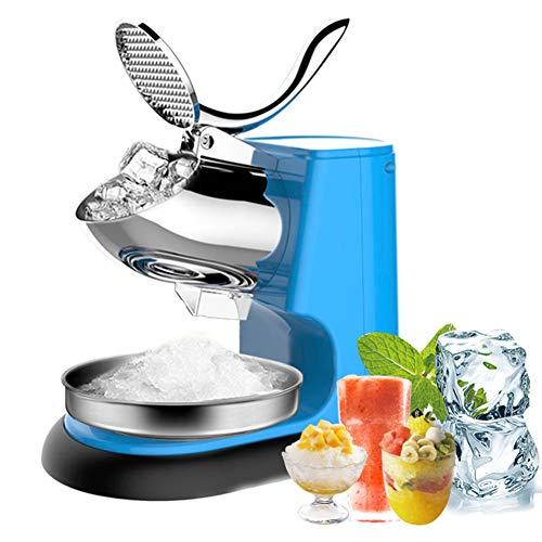 GREATY Professional Ice Crusher, Electric Ice Shaver 95kg/h Cold Drink...