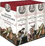 William Shakespeare, Sämtliche Werke in drei Bänden (Tragödien - Komödien - Historien/Sonette/Versepen) (3 Bände im Schuber): Tragödien - Komödien - Historien (Drei Bände in Kassette)