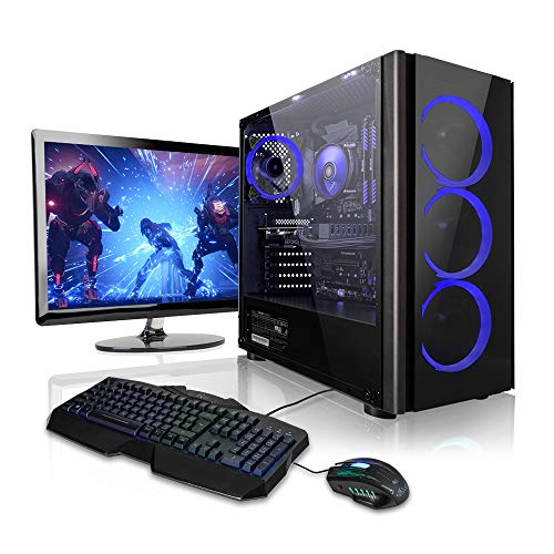 Pack Gaming - Ordenador Gaming PC AMD Ryzen 5 2600 • 24' ASUS Full-HD •...