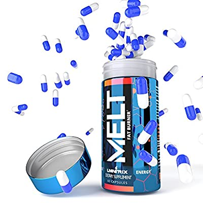 MELT ? Best Thermogenic Fat Burner Pills for Men & Women ? Diet Pills That Work Fast for Weight Loss ? Real Results Guaranteed ? 60 Capsules