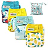 Best All In One Cloth Diapers - Asenappy All in One Cloth Diaper 4 Pack Review