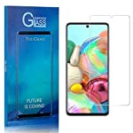 Screen Protector Compatible with Galaxy M60S, The Grafu 9H Ultra Clear Tempered Glass Screen Protector for Samsung… 6 Package: 4* The Grafu tempered glass screen protector for Samsung Galaxy M60S, 4* cleaning cloth, 4* wet wipes, 4* dust removal sticker, 4* instructions Scratch Resistant - Provides everyday protection for your Phone against scratches, bumps and minor drops Transparent - Featuring an ultra-clear, hydrophobic, and oleophobic screen coating, protecting against fingertips, sweat and oil residue. Keep your screen clear at all times