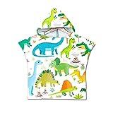 AZHUI Kinder Mikrofaser Strand Umhang Handtuch schnelltrockn Kind-Karikatur mit Kapuze Badetuch for Baby-Poncho Handtuch Swim Ändern Robe (Color : K, Size : 60 * 80cm)