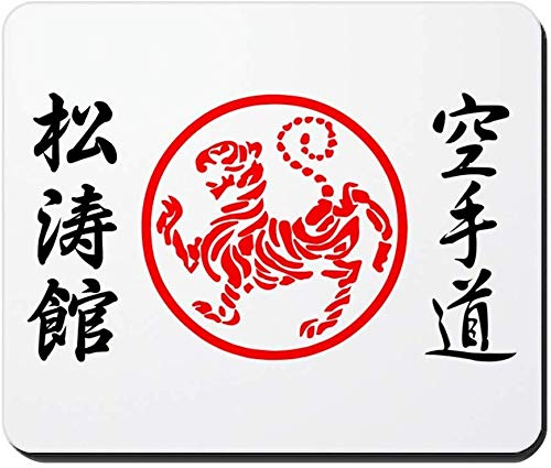 Shotokan Karate Symbol Rutschfestes Gummi Mousepad, Gaming Mouse Pad