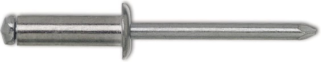 500 Blindnieten 4,8x10 Stahl//Stahl Flachkopfnieten  Standard Nieten