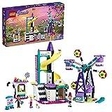 LEGO 41689 Friends Mundo de Magia: Noria y Tobogán, Parue de Atracciones de Juguete para Niños y Niñas +7 Años con Mini Muñecas