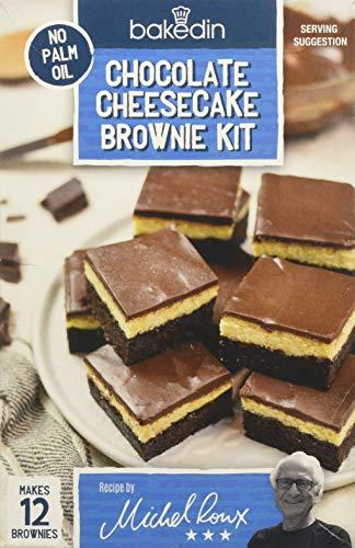 BakedIn Chocolate Cheesecake Brownie Grocery Kit, 3 Pack