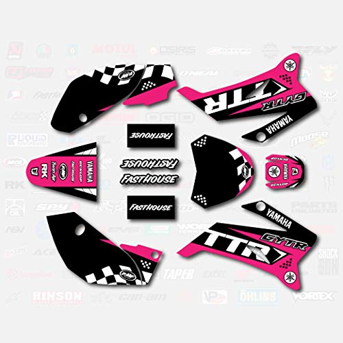 Pink Podium Racing Graphics fits 2008-2019 YAMAHA TTR110 Sticker TTR 110 08-19