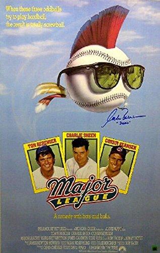 Corbin Bernsen'Dorn' Signed/Autographed Major League Movie Poster