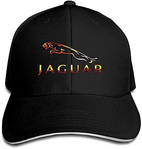Wdskbg YHuseki Jaguar Sandwich Baseball Caps for Unisex Adjustable Black
