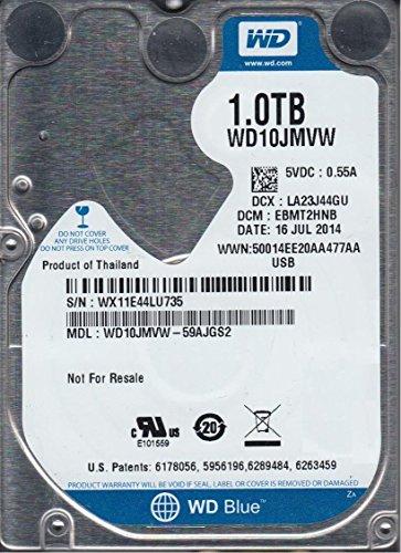 WD10JMVW-59AJGS2, DCM EBMT2HNB, Western Digital 1TB USB 2.5 Disco Duro