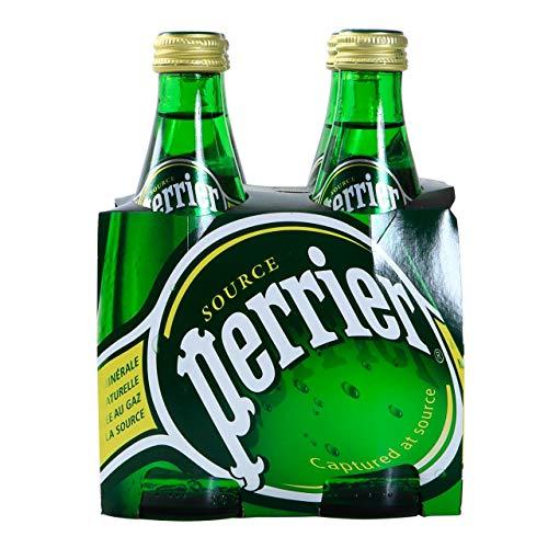 Perrier Mineralwasser mit Kohlensäure 24 Flaschen x 33 cl