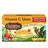 Celestial Seasonings Herbal Tea, Citrus Sunrise, Caffeine Free, 20 Count (Pack of 6)