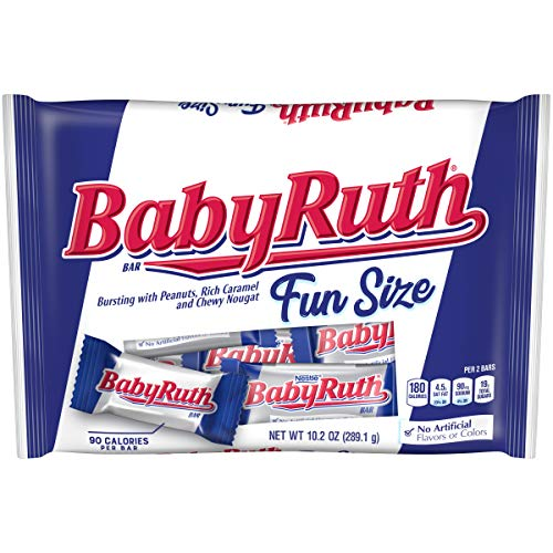 Baby Ruth Fun Size Chocolate Candy - 10.2oz