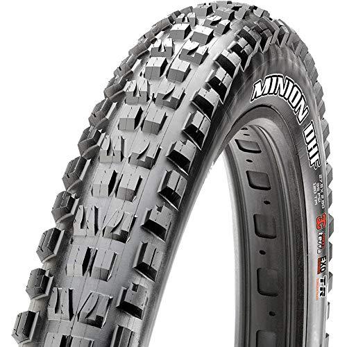 Maxxis Minion DHF Tire: 27.5 x 2.80, Folding, 120tpi, 3C MaxxTerra Compound, EXO+ Protection, Tubeless Ready, Black