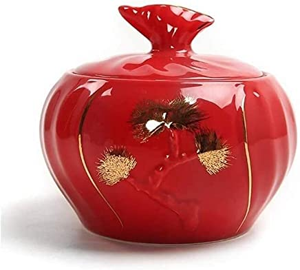 XSWZAQ Mini Urns For Human Ashes Urns For Ashes Urn For Adults Or Pets Ceramics Urns Funeral Remains Ashes Funeral Containers (Color : B)