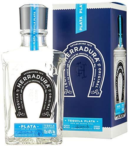 Tequila Herradura Plata - 100% Agave - 40% Vol. (1 x 0.7 l)/45 Tage Fassreife/Amerikanische Weißeiche