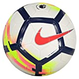 Nike PL NK Strk Ballon de Football FC Barcelone, Unisexe Adulte, Blanc/(White/Crimson/Deep Royal/Crimson), 4