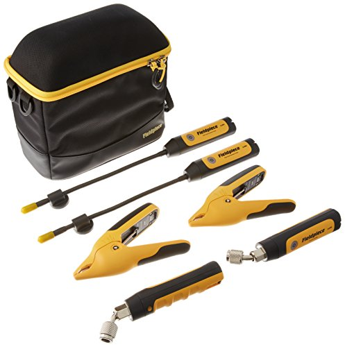 Fieldpiece JL3KH6 HVACR Charge and Air Kit, Yellow