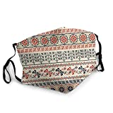 Traditional Palestinian Geometry Face Cover Reusable,Washable Cloth,Face Cover,Couple Comfortable Washable Mask