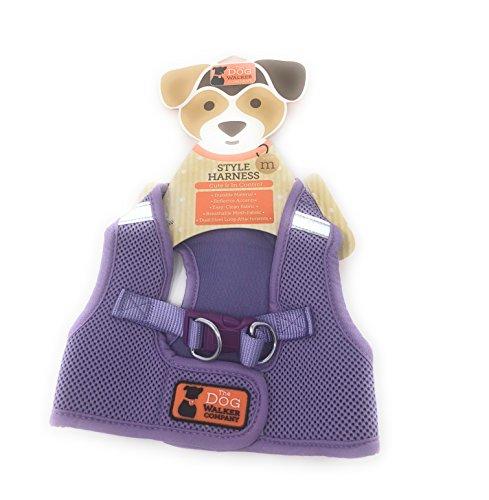 The Dog Walker Medium Style Harness ~ Purple