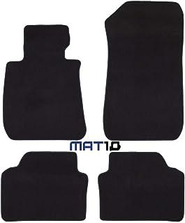 Negro Premier Alfombra alfombrillas de Para Bmw Serie 3 E93 Convertible 07 /& Gt-Cuero Tri
