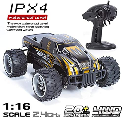 @Muzili Monster Truck 1 16 Verh nis 2,4 G Breitband Allradantrieb Suspendierung 280 Motor Bestes Kindergeschenk